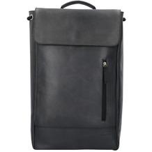 Jost Narvik Rucksack Leder 47 cm Laptopfach black