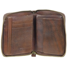 Jost Ranger Geldbörse Leder 12,5 cm cognac