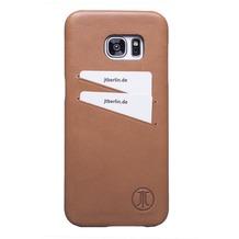 JT Berlin LederCover Style - Samsung Galaxy S7 edge - cognac