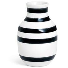 Kähler Vase Omaggio S schwarz-weiß