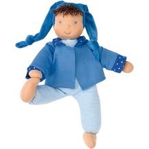 Käthe Kruse Puppe Schatzi blau