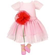 Käthe Kruse Puppenbekleidung Ballerina Kleid 52-56 cm
