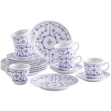 Kahla Comodo Kaffee-Set 18-teilig Blau Saks