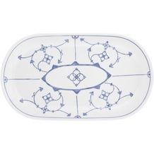 Kahla Coup Platte, oval 32 cm Blau Saks