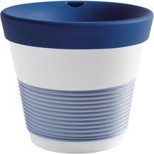 Kahla cupit Becher 0,23 l + Trinkdeckel 10x2 cm Magic Grip deep sea blue