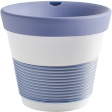 Kahla cupit Becher 0,23 l + Trinkdeckel 10x2 cm Magic Grip stormy blue