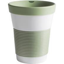 Kahla cupit Becher 0,35 l + Trinkdeckel 10x2 cm Magic Grip fresh herbs