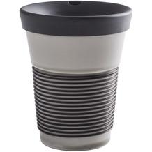 Kahla cupit Becher 0,35 l + Trinkdeckel 10x2 cm Pure Limestone