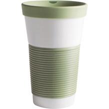 Kahla cupit Becher 0,47 l + Trinkdeckel 10x2 cm Magic Grip fresh herbs