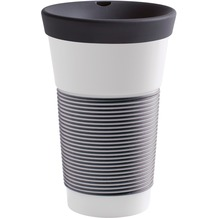 Kahla cupit Becher 0,47 l + Trinkdeckel 10x2 cm Magic Grip soft black