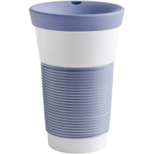 Kahla cupit Becher 0,47 l + Trinkdeckel 10x2 cm Magic Grip stormy blue