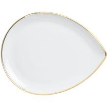 Kahla Dîner Platte midi 24 cm Line of Gold