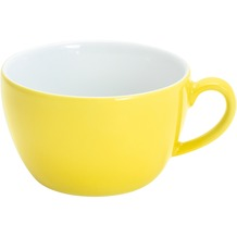 Kahla Einzelteile Cappuccino-Obertasse 0,25 l zitronengelb