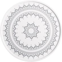 Kahla Einzelteile Platte/Tortenplatte 31 cm Kreuzstich grau
