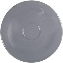 Kahla Einzelteile Untertasse 12 cm grau