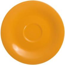 Kahla Einzelteile Untertasse 12 cm orange-gelb
