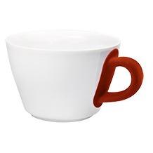 Kahla Five Senses Cappuccino-Obertasse 0,25 l bordglasiert touch! rot