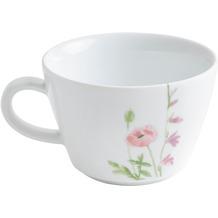 Kahla Five Senses Cappuccino-Obertasse 0,25 l bordglasiert Wildblume rot/gelb
