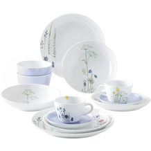 Kahla Five Senses Design 2 Go Set 12-teilig Wildblume blau/rot