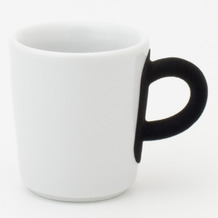 Kahla Five Senses Espresso-Obertasse 0,09 l touch! schwarz