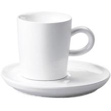 Kahla Five Senses Espresso-Obertasse 0,09 l weiß