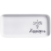 Kahla Flavoured Moments Tablett rechteckig 20x9 cm Spoon of Happiness