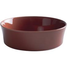 Kahla Homestyle Auflaufform rund, 20 cm siena red