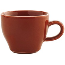 Kahla Homestyle Cappuccino Italiano-Obertasse 0,18 l siena red