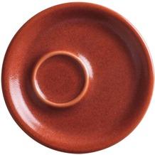 Kahla Homestyle Espresso-Untertasse 11,7 cm siena red