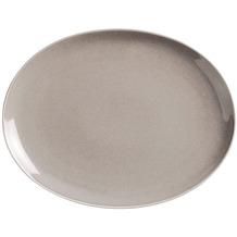 Kahla Homestyle Platte, oval 32 cm desert sand