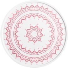 Kahla Hygge Platte/Tortenplatte 31 cm Kreuzstich rot