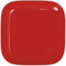 Kahla Pronto Deckelchen eckig 10x10 cm rot