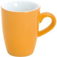 Kahla Pronto Espresso-Obertasse hoch 0,10 l orange-gelb