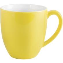 Kahla Pronto Kaffeebecher 0,40 l XL zitronengelb