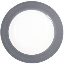 Kahla Pronto Suppenteller 22 cm grau