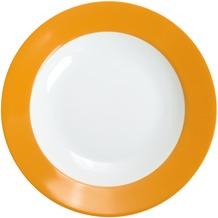 Kahla Pronto Suppenteller 22 cm orange-gelb