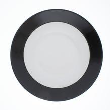Kahla Pronto Suppenteller 22 cm schwarz