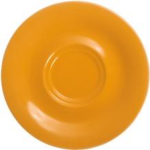 Kahla Pronto Untertasse 16 cm orange-gelb