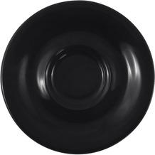 Kahla Pronto Untertasse 16 cm schwarz