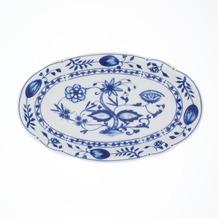 Kahla Rossella Zwiebelmuster Platte, oval 23 cm