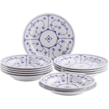 Kahla Tradition Tafel-Set 12tlg. Blau Saks