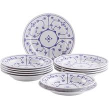 Kahla Tradition Tafel-Set 12tlg. Blau Saks