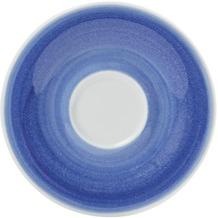 Kahla Untertasse 12 cm, gestreift