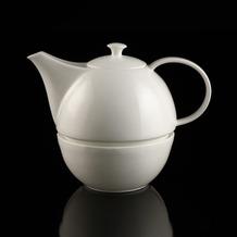 Kaiser Porzellan Teekanne mit Stövchen weiß 20,0 cm