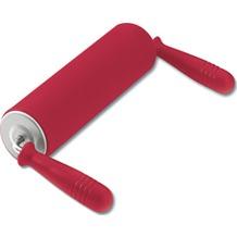 Kaiser Teigrolle mit hochgestellten Griffen Kaiserflex Red