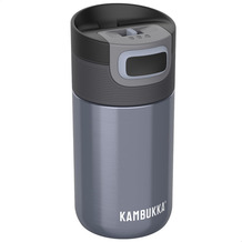 Kambukka Isolierbecher Etna Blue Steel blaugrau Thermobecher 300ml