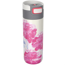Kambukka Isolierbecher Etna Pink Blossom rosa Blüte Thermobecher 500ml