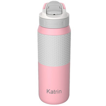 Kambukka Isolierflasche Lagoon Insulated Pink lady rosa MIT GRAVUR (z.B. Namen) Thermo-Flasche 750ml