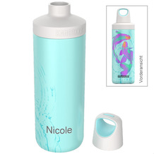 Kambukka Isolierflasche Reno Insulated Neon Koi MIT GRAVUR (z.B. Namen) Thermo-Flasche 500ml