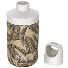 Kambukka Isolierflasche Reno Insulated Palms Palmen MIT GRAVUR (z.B. Namen) Thermo-Flasche 300ml
